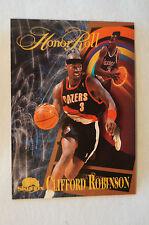NBA CARD - Sky Box - Honor Roll Series - Clifford Robinson - Trail Blazers