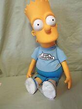 1990 Dan Dee 19 inch Bart Simpson Pull String Talking Doll Aye Caramba shirt