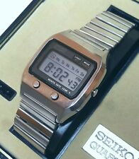 Rare Vintage Seiko Digital 0674-5000 JAMES BOND LCD In Perfect Working Condition