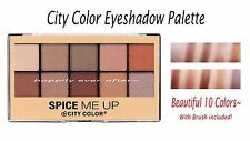City Color Lightly Shimmered Neutral Eyeshadow Palette- Neutral Eye Shadows~