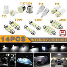 14Pcs/Set Led Interior Package Kit For T10 36mm Map Dome License Plate Lights Us
