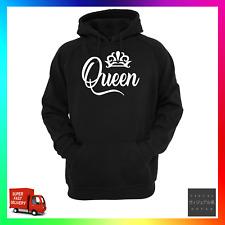 Queen Hoodie Hoody Hoodie Activist Rights Gender Pride Feminism Women Crown Wife