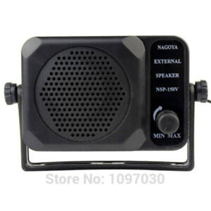 NEW NSP-150V External Speaker for Kenwood ICOM Yaesu Anytone Car Mobile Radio