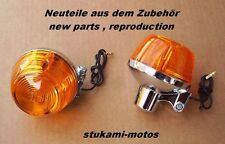 Honda CB 350 400 500 Four + CB 750 Four Blinker neu 2 Stück winker clignotant 2x