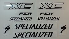 Specialized XC FSR MTB vinyl sticker / decal pack for re-spray restore etc