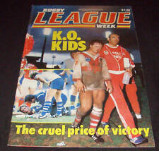 Rugby League Week Newspaper/Magazine Vol 15 No 28  1984