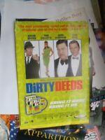 DIRTY DEEDS 1 SHEET  MOVIE POSTER AUST   DVD VIDEO