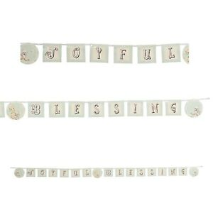 PRECIOUS MOMENTS JOYFUL BLESSING BANNER  10' FT Baby Shower Decoration