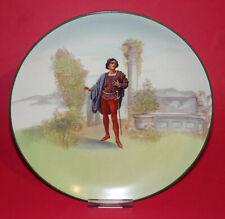 "ROYAL DOULTON * Vintagge Romeo Plate * Shakespeare * 9"" (23cm) Diameter *"