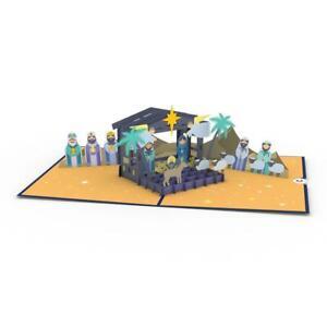Nativity  -  Lovepop 3D pop-up Christmas card