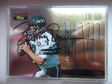 1/4000 1995 JETS Boomer Esiason CLASSIC PRO LINE MVP REDEMPTION AUTOGRAPHED CARD