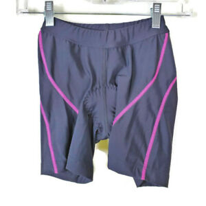 NWT Shebeest Tri Shorts Women's Size XS Black Fuchsia Pink Triathlon Cycling