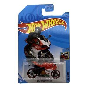 2019 Hot Wheels Ducati 1199 Panigale #58/250 HW Moto 2/5 Red,White,Green