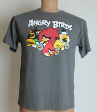 Angry Birds Adult Size Large Gray T-Shirt