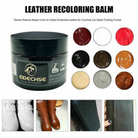 50ML Leather Repair Filler Cream Kit Restore Car Seat Sofa Scratch Scuffs Holes
