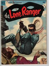 THE LONE RANGER #62 1953 GOLDEN AGE 52 PAGES!