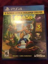 Crash Bandicoot N. Sane Trilogy - PlayStation 4 (Damage Case)