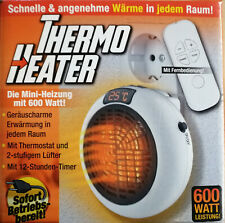 Thermo Heater Mini Heizung 600 Watt Geräuscharm