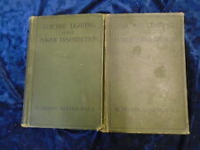 * 2 ELECTRIC LIGHTING & POWER DISTRIBUTION BOOKS by W. PERREN * UK POST £3.25*HB