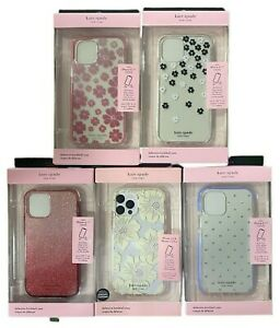 """Kate Spade New York Hardshell Case for iPhone 12 & iPhone 12 Pro (6.1"""") - Colors"""