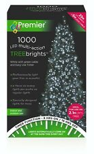 Premier 1000 LEDs Multi-Action TREEBRIGHTS Light White 25M Xmas Christmas Party