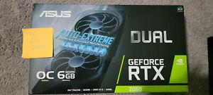 ASUS GeForce RTX 2060 6GB GDDR6 Graphics Card (DUALRTX2060O6GEVO)