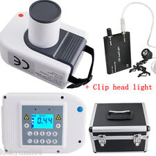 Digital Dental X Ray Machine intra-oral Laptop Imaging Unit 30K+ Head Light+Case