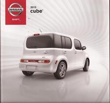 2013 13  Nissan Cube original sales brochure