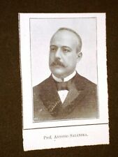 Deputato nel 1909 Professore Antonio Salandra