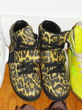 Givenchy Leopard Print Hi-Top Calfskin Sneakers