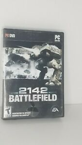 Battlefield 2142 PC DVD-Rom 2006 Windows Action Game First Person Shooter w/ Key