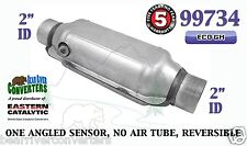 """99734 Eastern Universal Catalytic Converter ECO GM Catalyst 2"""" Pipe 12"""" Body"""