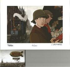 J. Tardi puzzle+ aimant / magent « Avril et le monde truqué » 120 ex N° signé
