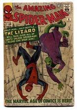 Amazing Spider-Man #6 First LIZARD 1963 Marvel Silver Age g/vg