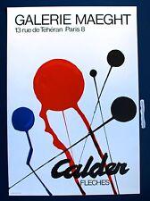 ALEXANDER CALDER 1968 GALERIE MAEGHT PARIS ORIGINAL LITHOGRAPH POSTER