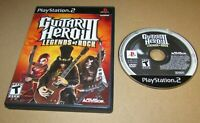 Guitar Hero III: Legends of Rock for Playstation 2 PS2 Fast Shipping
