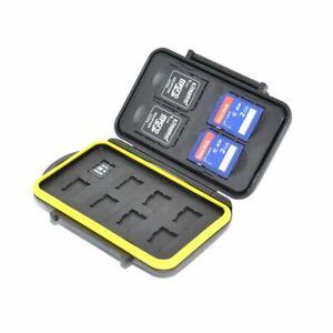 JJC MC-SDMSD12 Adaptateur pour carte mémoire 4 x SD, 8 x cartes micro SD