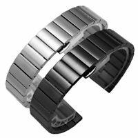 16-22mm Edelstahl Uhrenarmband Armband für Smartwatch Schmetterling Schnalle Neu