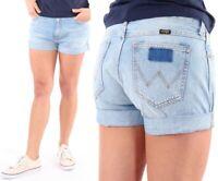 Wrangler Jeans Shorts Fiji Boyfriend Blau XS,S,M