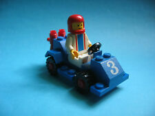 Lego Auto Rennwagen 6605 Road Racer mit Figur von 1984