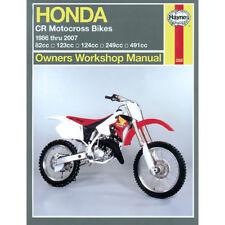 Honda CR80 CR125 CR250 CR500 1986-2007 Haynes Manual De Taller Motocross