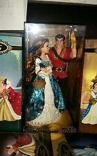 Disney Beauty & Beast Belle and Gaston limited edition Fairytale designer dolls.