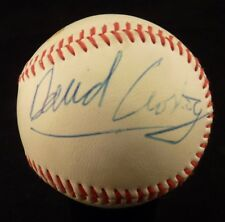 DAVID CROSBY & GRAHAM NASH SIGNED AUTOGRAPHED BALL BASEBALL BECKETT CERTIFIED