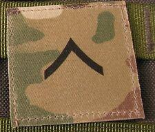 Galons US - PRIVATE - grade scratch BV MULTICAM rank insignia SNAKE PATCH