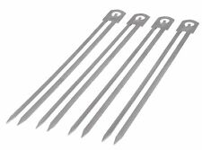 Char-Broil 4-Pack Skewers BBQ Grill Grilling Stainless Steel Tool Accessory NEW