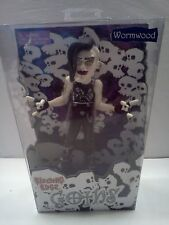 BLEEDING EDGE GOTHS DOLL SERIES Wormwood 7 INCH FIGURINE NEW IN BOX Gothic Goth