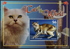 Cats British Colonies & Territories Postage Stamps
