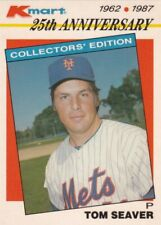 1987 TOPPS K-MART 25th ANNIVERSARY #-21 TOM SEAVER==NEW YORK METS