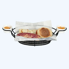 1pc French Fry Holder Basket Frying Chips Frier Baskets Mesh Serving Tray