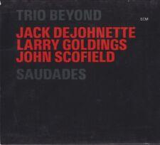 Saudades by Trio Beyond; Scofield; DeJohnette (2CD's, 2006, ECM) VGC / FREE S&H